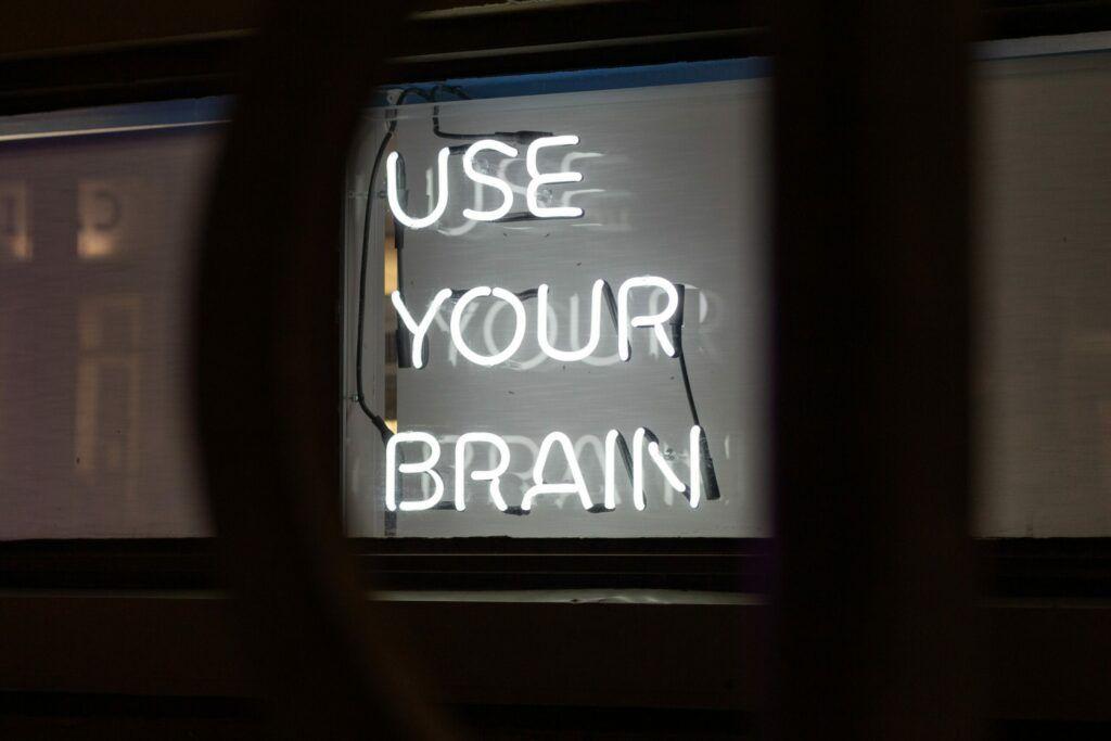 Use your Brain im Training