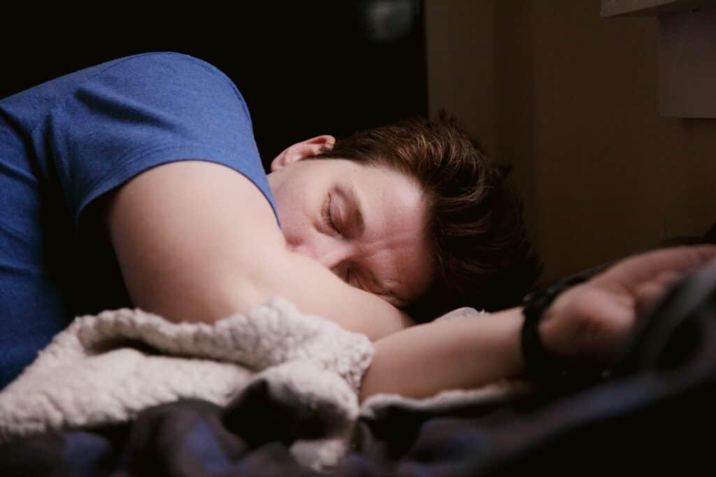 Erholung bedeutet auch schlafen